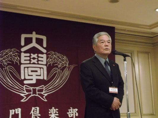 飯田修元監督(S41)激励の言葉