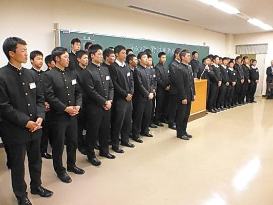 岩間貴弘主務による部員紹介