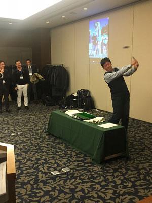 平野茂さんゴルフ講座