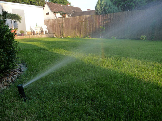 Gartenpflege / Bewässwerungsanlage / Rasensprenger: Versenkregner von Rain Bird (r) Typ 5000 und Typ 3500 , GreenFairway e.K.