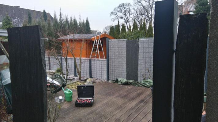 Splittgabionen, Gabionen - Bau in Isernhagen, Hannover und Burgwedel, GreenFairway e.K.