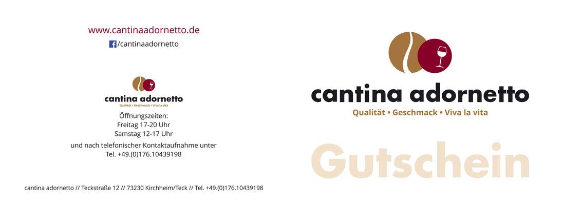 Wertgutschein cantina adornetto Seite 4-1