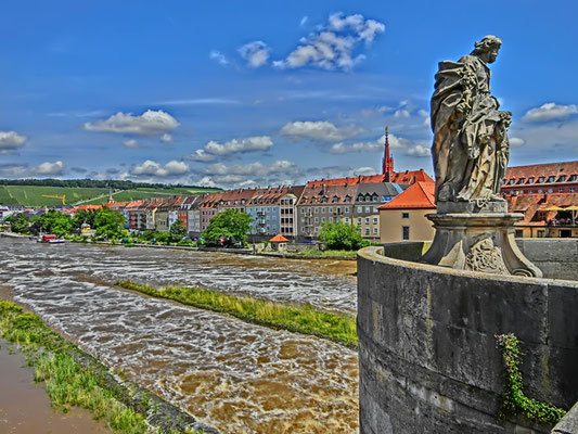 Friedrich-Wilhelm Gevers: Main bei Würzburg