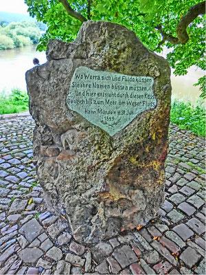 Friedrich-Wilhelm Gevers: Weserstein
