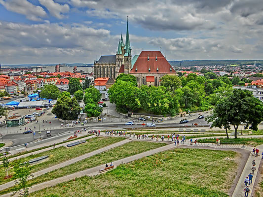 Friedrich-Wilhelm Gevers: Dom zu Erfurt