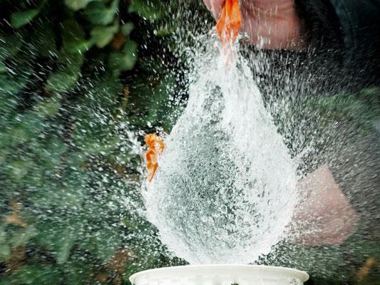Ingrid Aulenbach: Wassertropfen