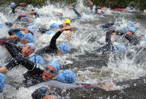"""Start Triathlon"" Peter Böhme"