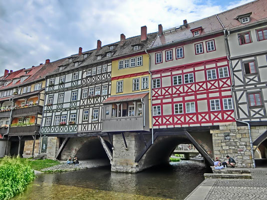Friedrich-Wilhelm Gevers: Krämerbrücke Erfurt