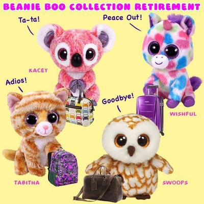 3adbe112590 Seems like I ve been missing out on retirements the last couple of months.  So many Beanie Boos to retire  o