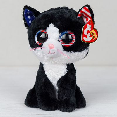 New Cracker Barrel exclusive  Freedom the cat! - Beanie Boo collection  website! f9ca8bd3dc5