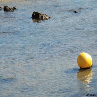 Bouée jaune.