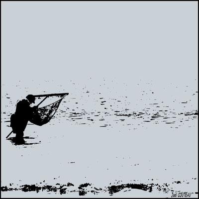 Le pêcheur. (vendu)
