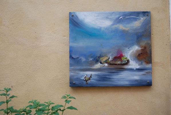 marine murale