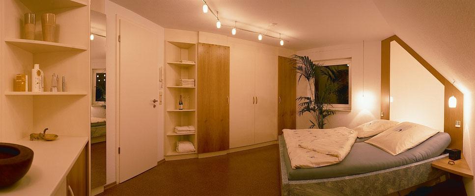 Schlafzimmerschrank als Einbauschrank