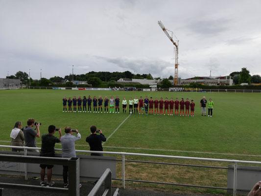 Délégation sportive chinoise (football) en Bretagne - entrainement