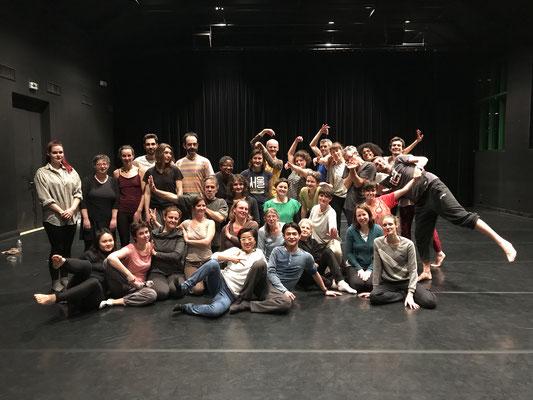 Atelier danse contemporaine avec le chorégraphe chinois Ergao au Musée de la danse