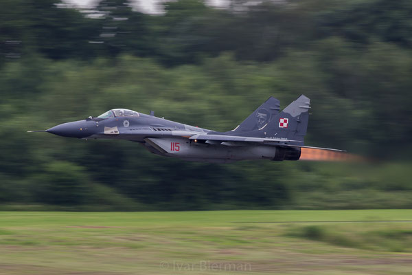 Polish Air Force MiG29