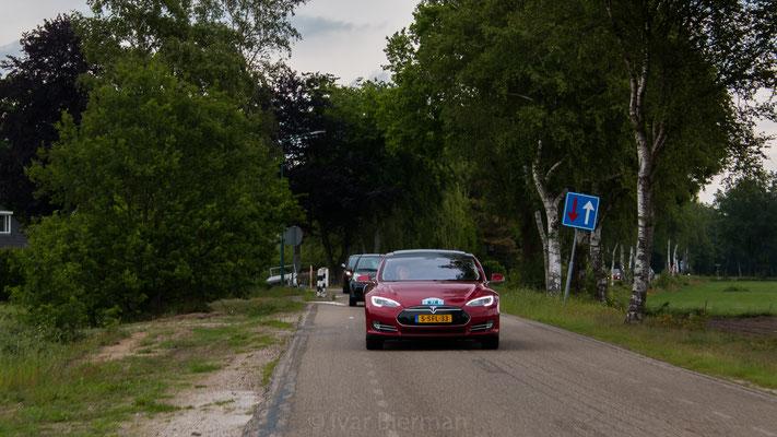 Tesla Model S, E-Rally 2019, Just Diggit