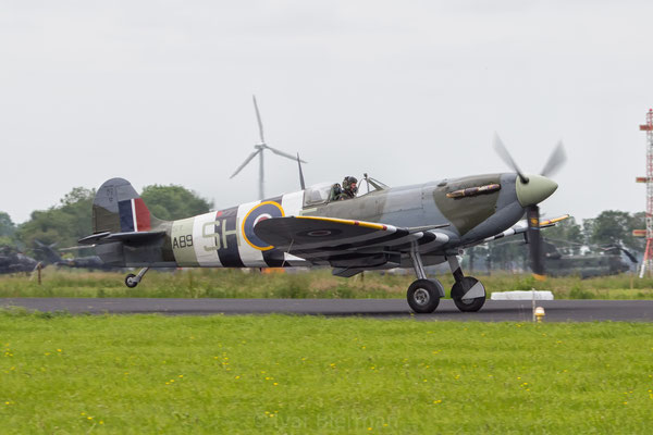 Battle of Britain Memorial Flight Spitfire
