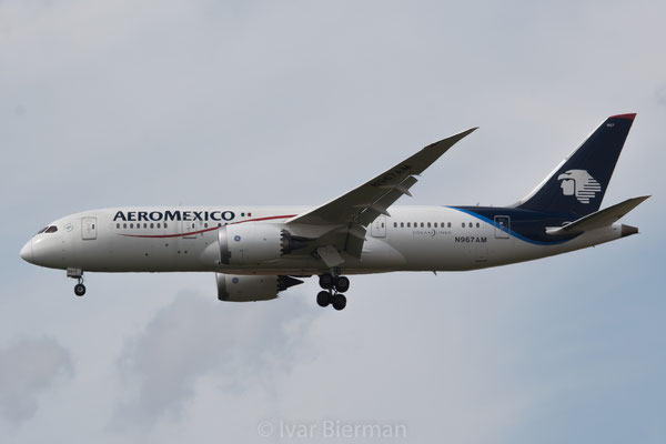 Aeromexico Boeing 787-8 Dreamliner N967AM
