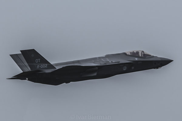 RNLAF F-35A Lightning II Joint Strike Fighter F-002