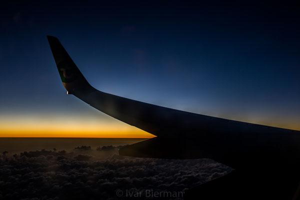 InflightTransaia Boeing 737-800 PH-HZW