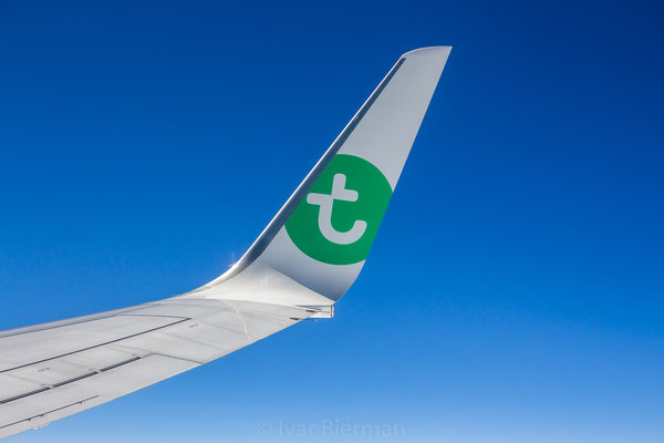 Inflight Transavia Boeing 737-800 PH-HSA