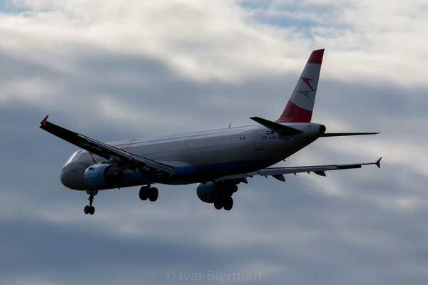 Austrian Airlines Airbus A321 OE-LBD