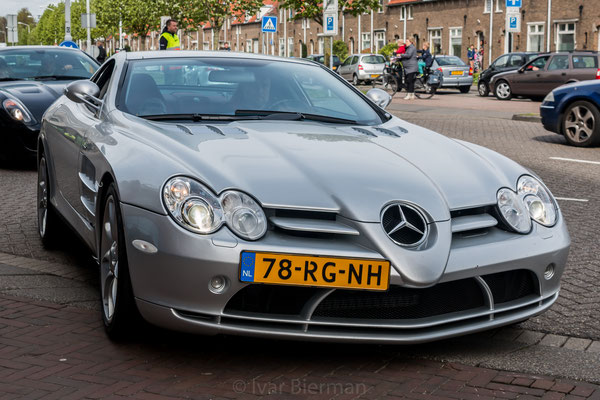 Mercedes SLR, grijs, 78-RG-NH, Papendrecht