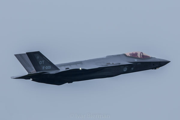 RNLAF F-35A Lightning II Joint Strike Fighter F-001