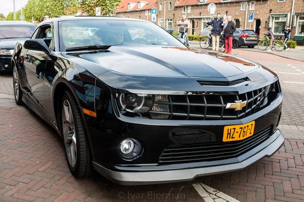 Chevrolet Camaro, zwart, HZ-767-Z, Papendrecht