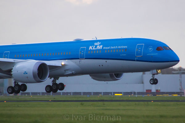 KLM, Boeing 787-9 Dreamliner, PH-BHC, delivery flight