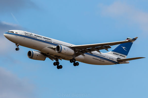 Kuwait Airways Airbus A330-200 9K-APD