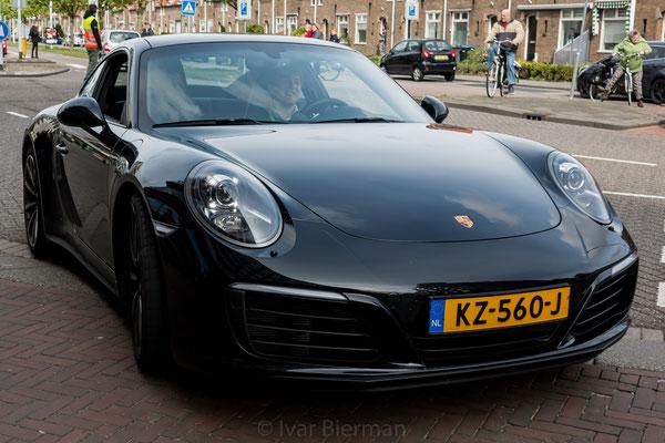 Porsche 911 Carrera 4S, zwart, KZ-560-J, Papendrecht