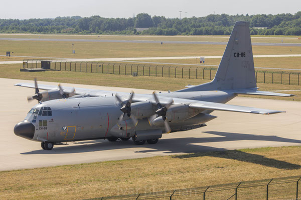 Belgian Air Force, C130H Hercules, CH-08