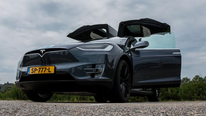 Tesla Model X, E-Rally 2019, Just Diggit