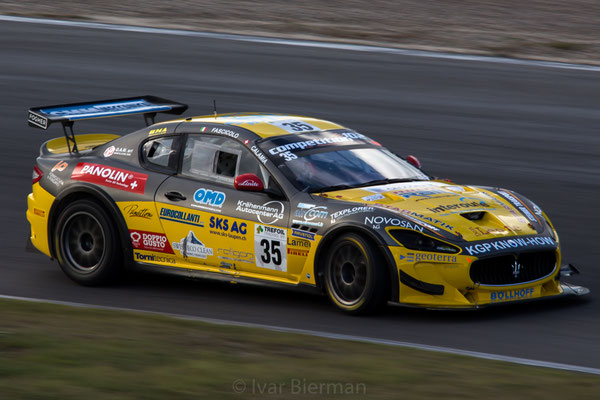 Swiss Team, Maserati Granturismo MC GT4, drivers: Mauro Calamia and Giuseppe Fascicolo