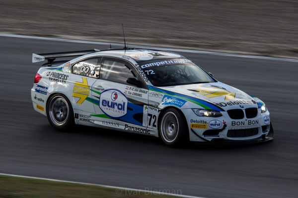 Allied Racing, BMW M3 GT4, drivers: Pieter Christiaan van Oranje and Tim Coronel