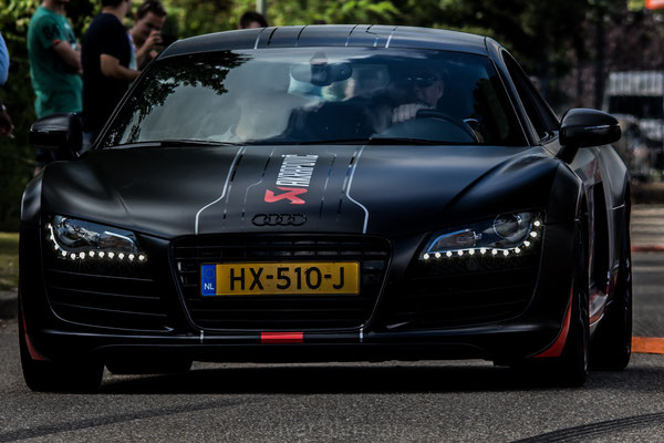 Audi R8 Quattro zwart HX-510-J