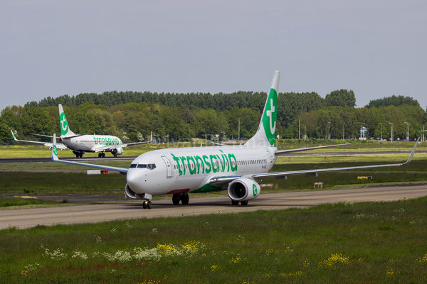 Transavia Boeing 737-800 2x