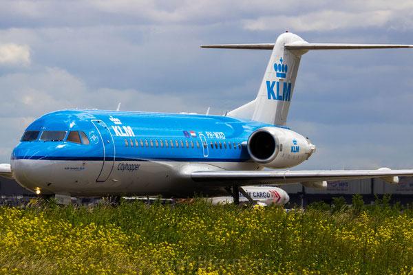 KLM Cityhopper Fokker 70