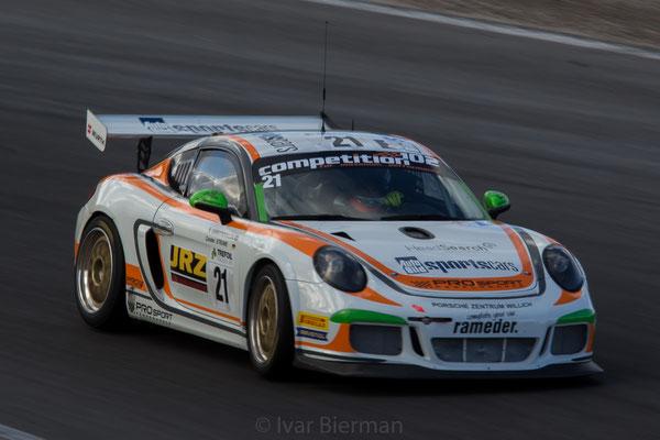 ProSport Performance, Porsche Cayman Pro4 GT4, drivers: Riki Christodoulou and Carsten Struwe