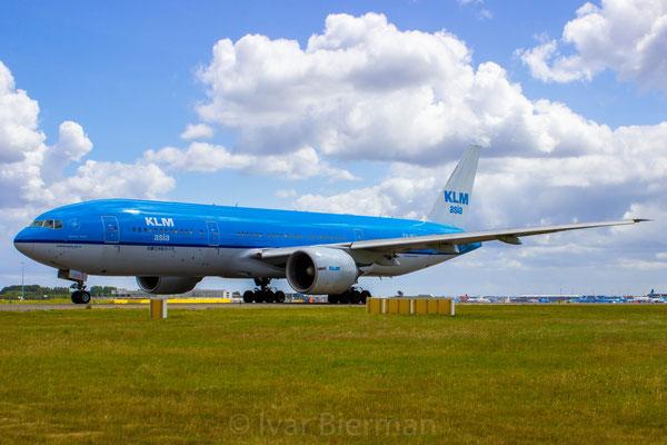 KLM, Boeing 777-200, PH-BQ