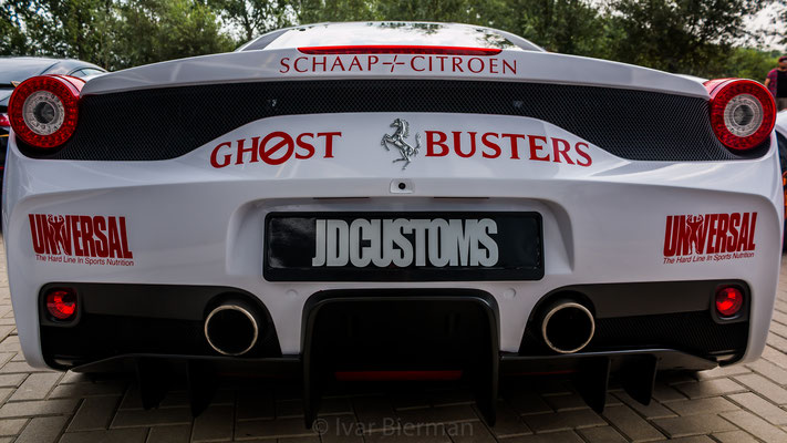 Ferrari GhostBusters team