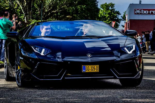 Lamborghini Aventador LP700-4 zwart GG-326-D