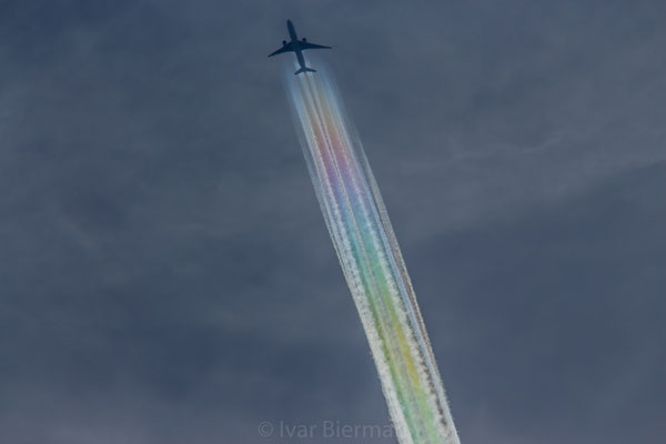 Air France kleurt de hemel