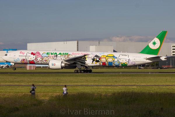 Eva Air, Boeing 777-300, Hello Kity livery