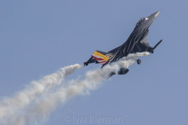 Belgian Air Force, F16 Solo Display, F16AM, FA-123