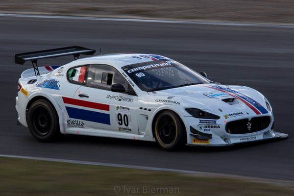 Villorba Corse, Maserati Granturismo MC GT4, drivers: Luca Anselmi and Patrick Zamparini
