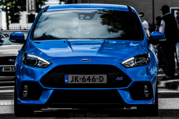 Ford Focus RS blauw JK-646-D